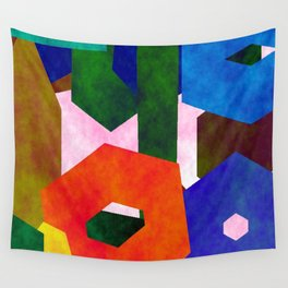 Retro Artistic Pattern Wall Tapestry