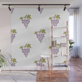 Wine Grapes Wall Mural