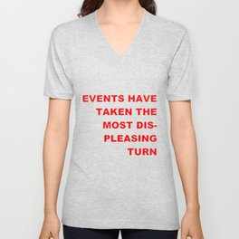 The Events & the Evaluation of 2016 (Variation on a net meme) Unisex V-Neck