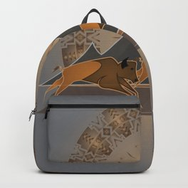 Native American Indian Buffalo Nation Backpack