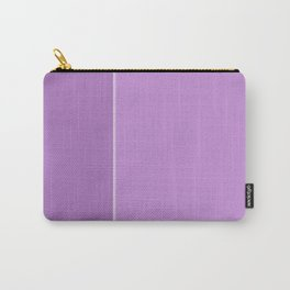 Purple Lines Carry-All Pouch