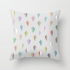 Nordic Combination 9 Throw Pillow