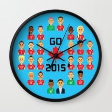 Go Canada 2015! Wall Clock