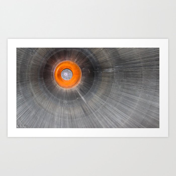 Rocket Engine Art Print