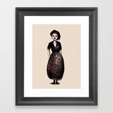 French Girl I Framed Art Print
