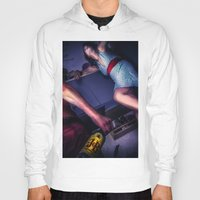 alcohol Hoodies featuring The fear of alcohol by lightmuch