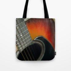 Guitar - Acoustic close up Tote Bag