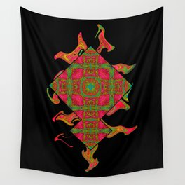 Cross those bricks when you get there. Wall Tapestry