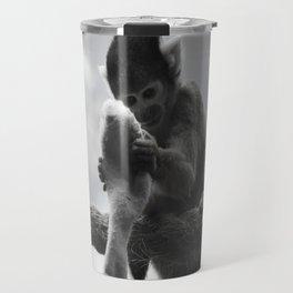 London Monkey Sock Travel Mug