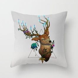 Christmas soul - Hart Throw Pillow