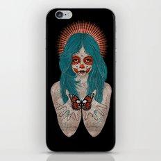 Santa Muerte iPhone & iPod Skin