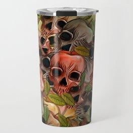 Apple Skull Travel Mug