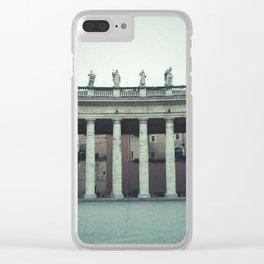 Bernini's Colonnade Clear iPhone Case