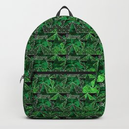 Stars V1 GREEN Backpack