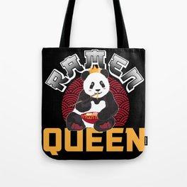 Panda Ramen Miso Nudelsuppe Queen Geschenk Tote Bag
