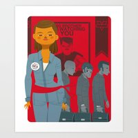1984 Art Prints featuring 1984 by Cristian Barbeito