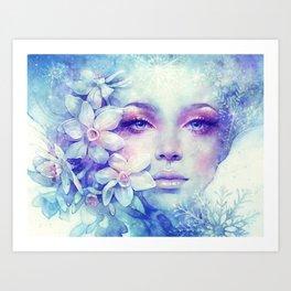 December Art Print