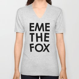EME THE FOX Unisex V-Neck