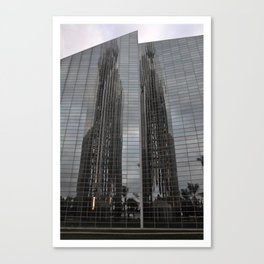 parallel reflection Canvas Print