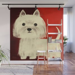 WEST HIGHLAND WHITE TERRIER Wall Mural