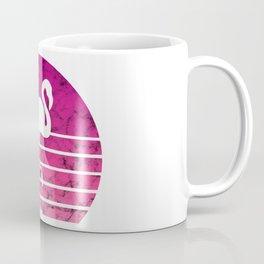 Flamingo Flamingos Walk Pink Colorful Retro Gift Coffee Mug