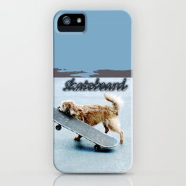 Cocoa Schnoodle Skateboards iPhone Case