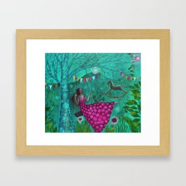 Green Dream Framed Art Print