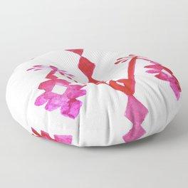 Ethnic Kilim Pattern Tree of Life Floor Pillow