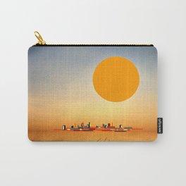 Horizon Sunset Orange Blue Carry-All Pouch