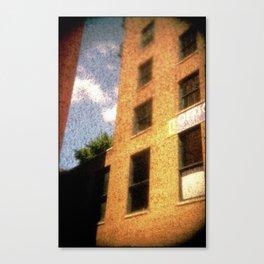 The City - Walls #2 Canvas Print