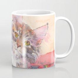 Kitten's Bed of Roses Coffee Mug