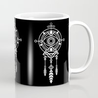 cosmic Mugs featuring Cosmic Dreamcatcher by Picomodi
