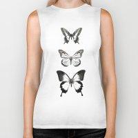 butterflies Biker Tanks featuring Butterflies // Align by Amy Hamilton