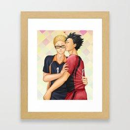 Before Their Match Framed Art Print
