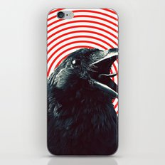 Crow iPhone & iPod Skin