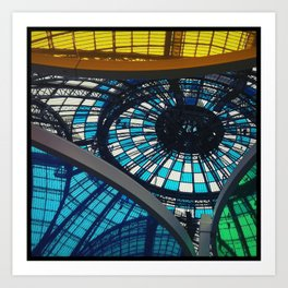 Buren at Grand Palais Art Print