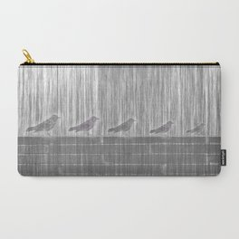 FIVE LITTLE BIRDS Carry-All Pouch
