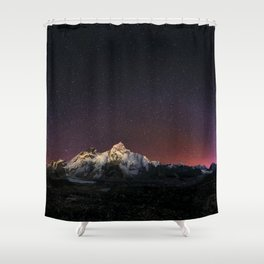 Everest Nightscape Shower Curtain