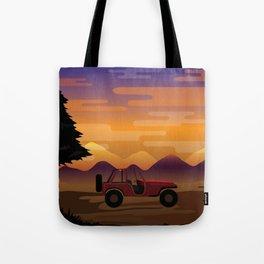 5unset Tote Bag