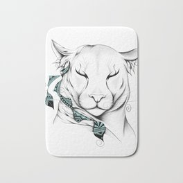 Poetic Cougar Bath Mat