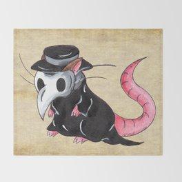 Plague Rat Throw Blanket