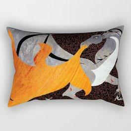 What Chance do Men Stand Rectangular Pillow