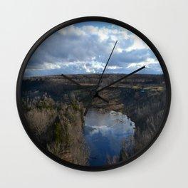 Skinner's Bluff Wall Clock