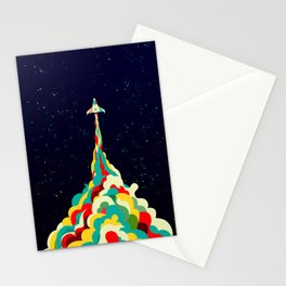 Into the Sky Stationery Cards