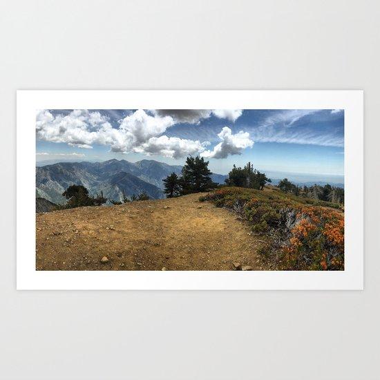 Summit Panorama Art Print