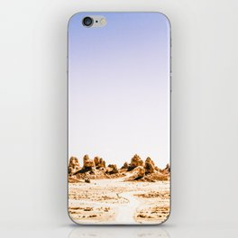 Mystery Planet - Trona Pinnacles Tufa Spires iPhone Skin