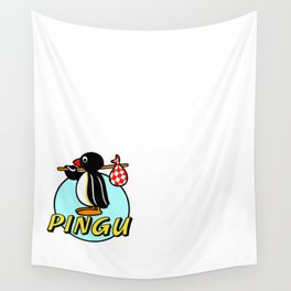 Pingu Pinguin Wall Tapestry