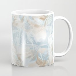 Watercolour in Blue Gold Coffee Mug