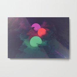 Canyon Glow Metal Print