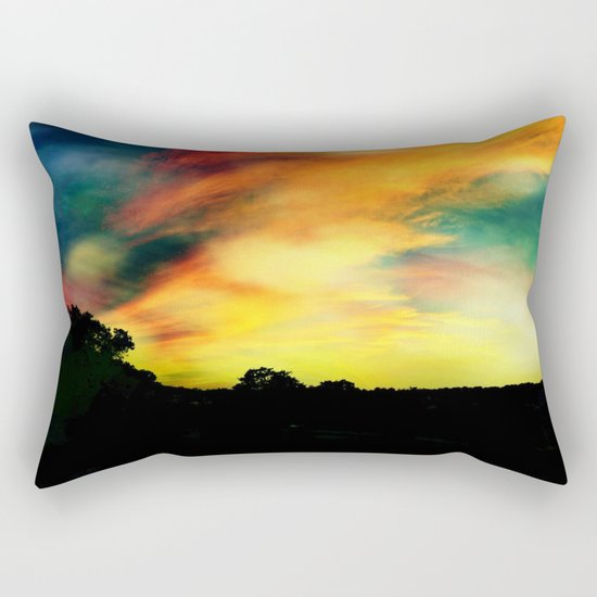 A Dreamscape Revisited Rectangular Pillow